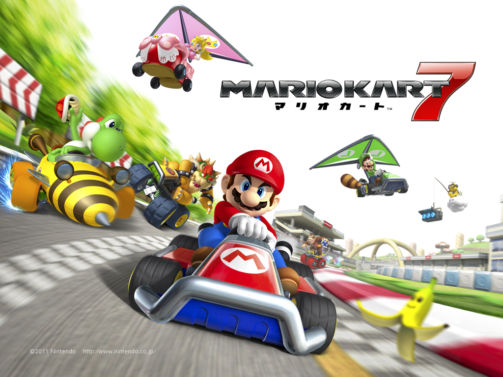mario kart 7 the best mario kart ocarina of time nerd. Black Bedroom Furniture Sets. Home Design Ideas